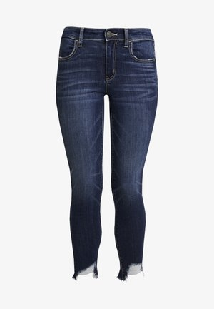 CROP - Jeans Skinny Fit - authentic dark indigo