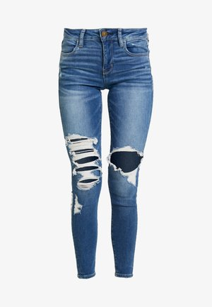 Jeans Skinny Fit - broken glass blue