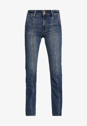 HI-RISE ARTIST - Jeans a zampa - worn out blue