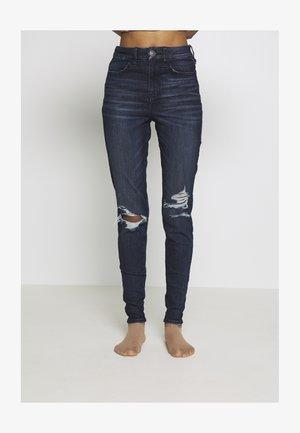 CURVY RISE  - Jeans Skinny - intensely dark