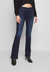 American Eagle - KICK BOOT - Bootcut jeans - monaco blue - 0