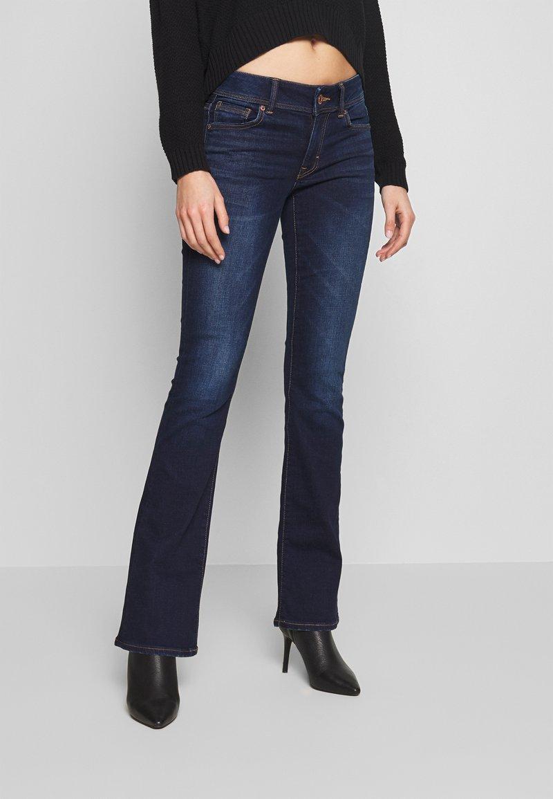 American Eagle - KICK BOOT - Bootcut jeans - monaco blue