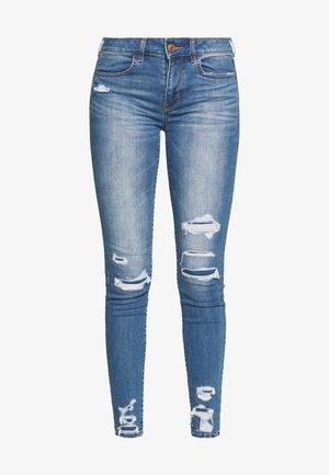Jeansy Skinny Fit - brilliant repair