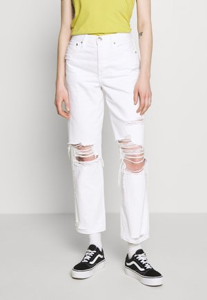 90'S BOYFRIEND - Relaxed fit jeans - white washed