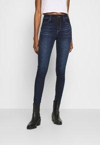American Eagle - RISE JEGGING - Jeans Skinny Fit - blue denim - 0