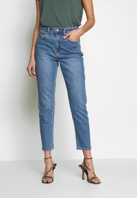 American Eagle - MOM - Jeans slim fit - faded indigo - 0