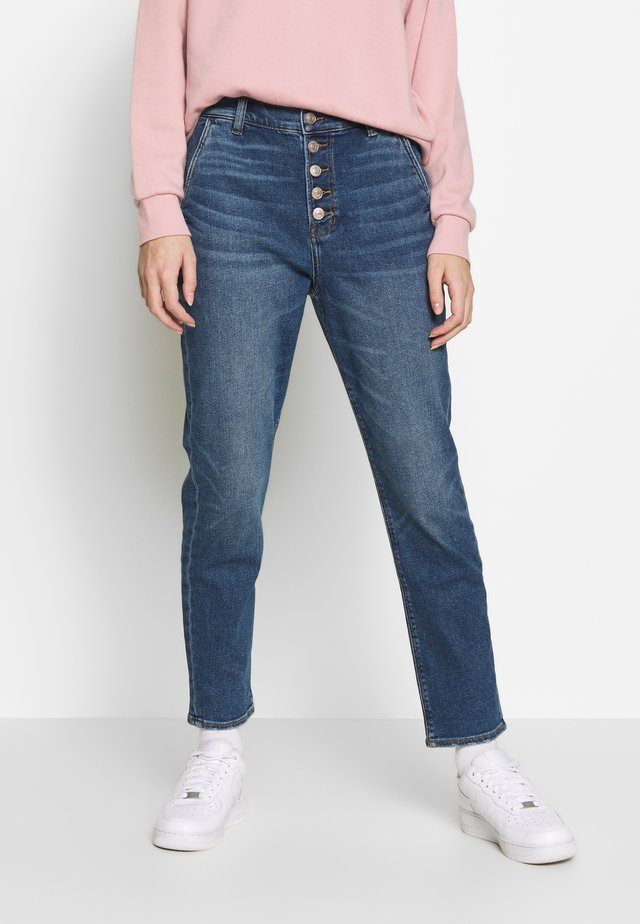 MOM - Jeans slim fit - easy breezy blue