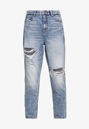 CURVY MOM - Jeans relaxed fit - blue street