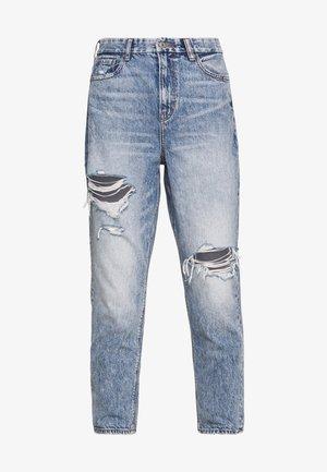 CURVY MOM - Jeans slim fit - blue street