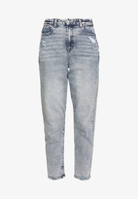 American Eagle - CURVY MOM - Slim fit jeans - blue denim - 4