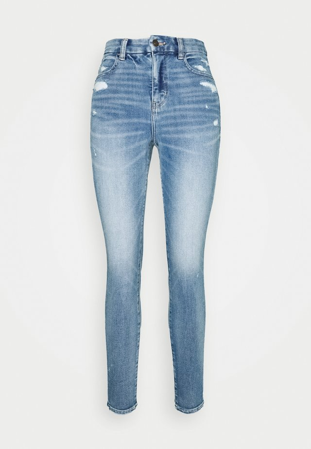 CURVY SUPER DREAM - Jeans slim fit - daylight destroy