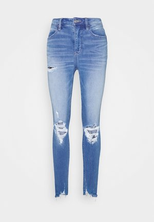 SUPER HIRISE DREAM - Jeans Skinny Fit - easy breezy blue