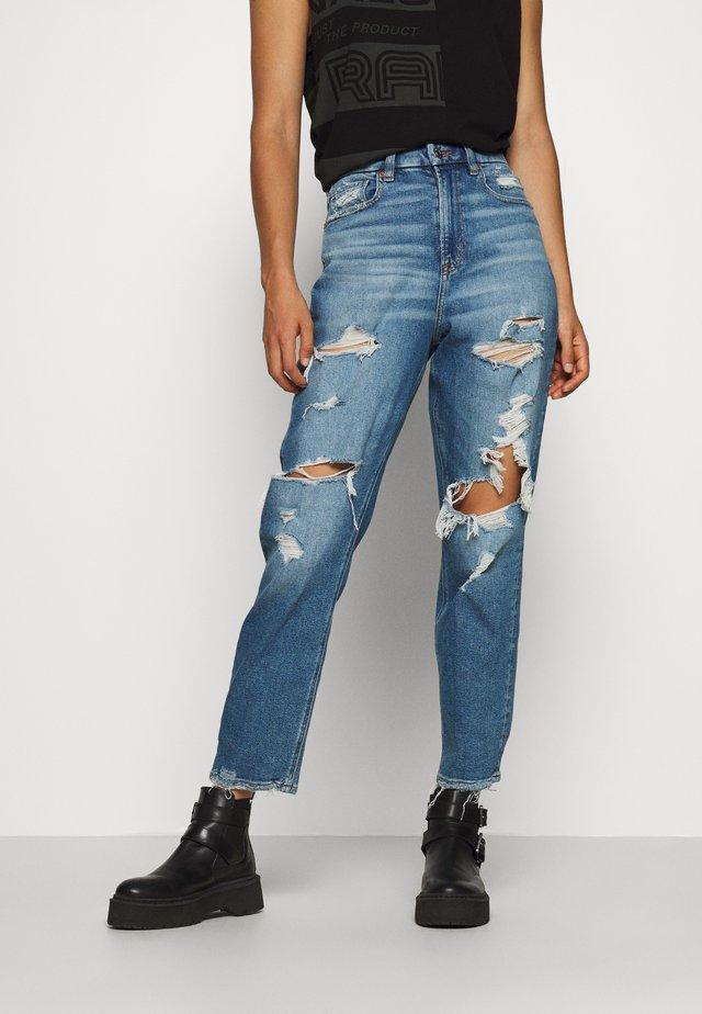 CURVY MOM JEAN - Jeans slim fit - blues spark