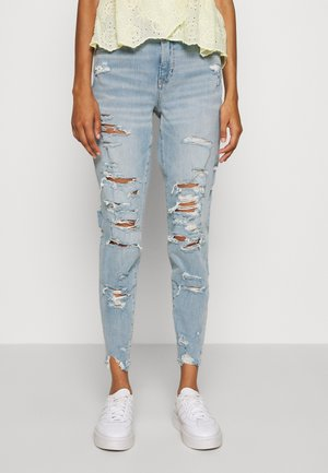 CURVY HI-RISE DREAM - Jeans Tapered Fit - torn up