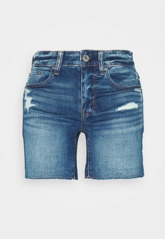 MIDI - Slim fit jeans - destroyed bright