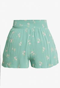 American Eagle - CHAIN RUNNER FLORAL - Shorts - green - 1