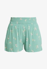 American Eagle - CHAIN RUNNER FLORAL - Shorts - green - 0