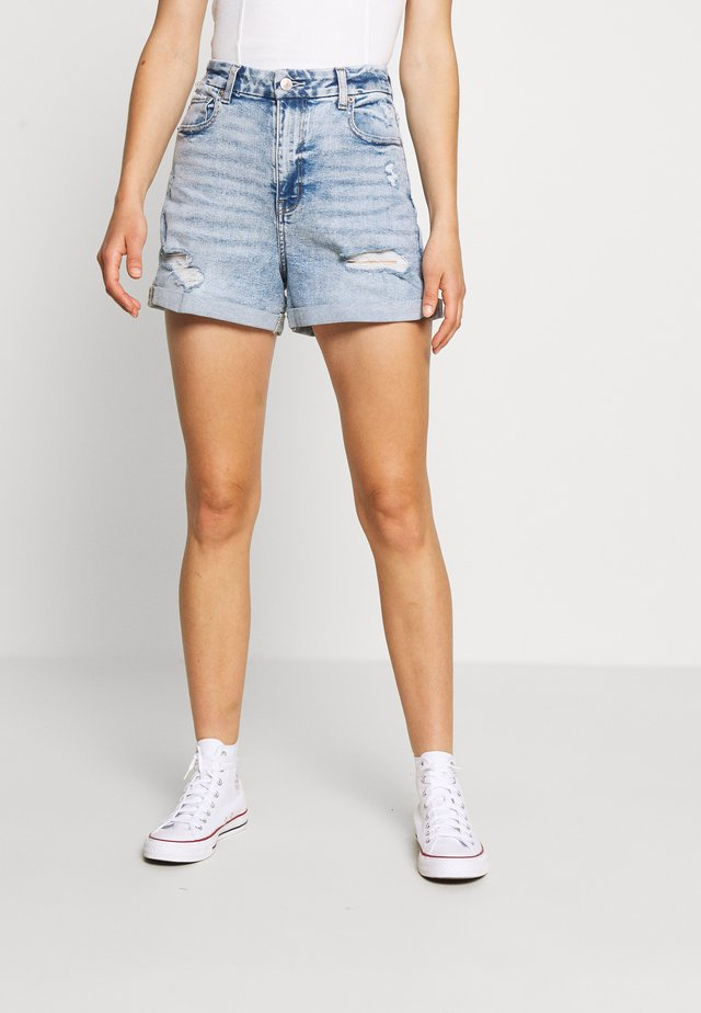 CURVY MOM  - Jeans Shorts - indigo acid