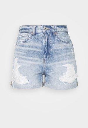 MOM - Shorts di jeans - medium destroy