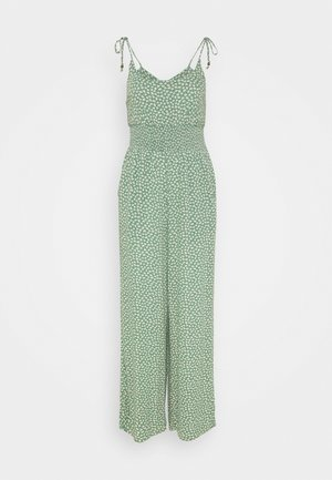 DOUBLE TIE CINCHED - Combinaison - green