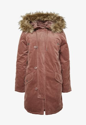 Winter coat - blush