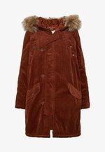 Płaszcz zimowy - brown
