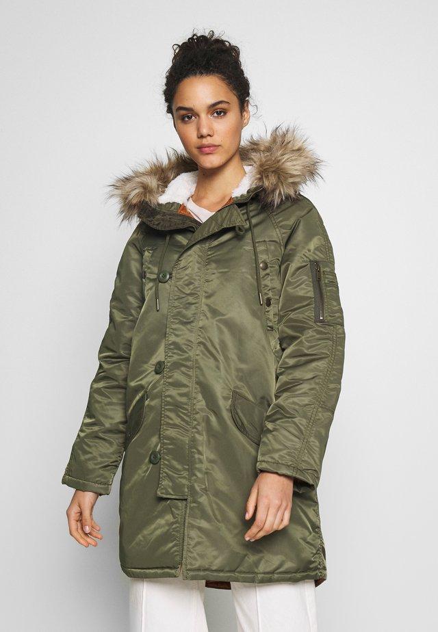 FLIGHT  - Płaszcz zimowy - olive