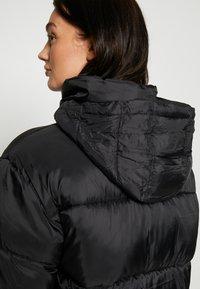 American Eagle - NOVELTY PUFFER JACKET - Zimní bunda - true black - 4