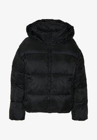 American Eagle - NOVELTY PUFFER JACKET - Zimní bunda - true black - 5