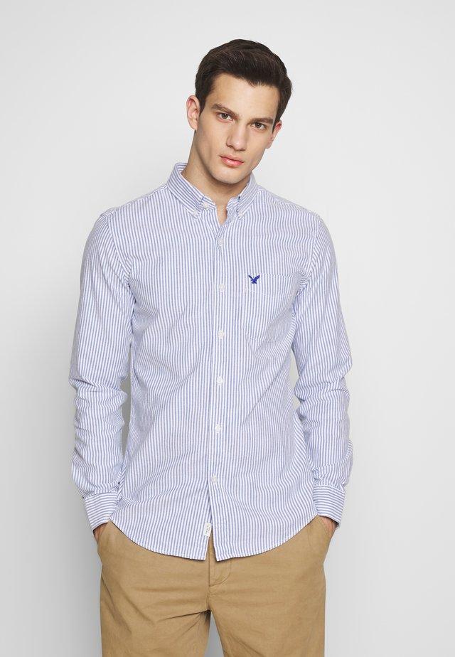 OXFORD BENGAL STRIPE SLIM FIT - Skjorta - blue
