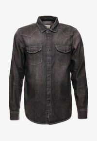 American Eagle - WESTERN - Koszula - washed black - 3
