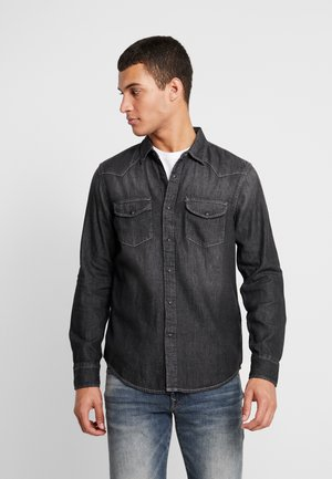 WESTERN - Košile - washed black