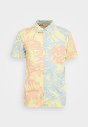 DIGI TROPICAL PATTERN - Shirt - yellow