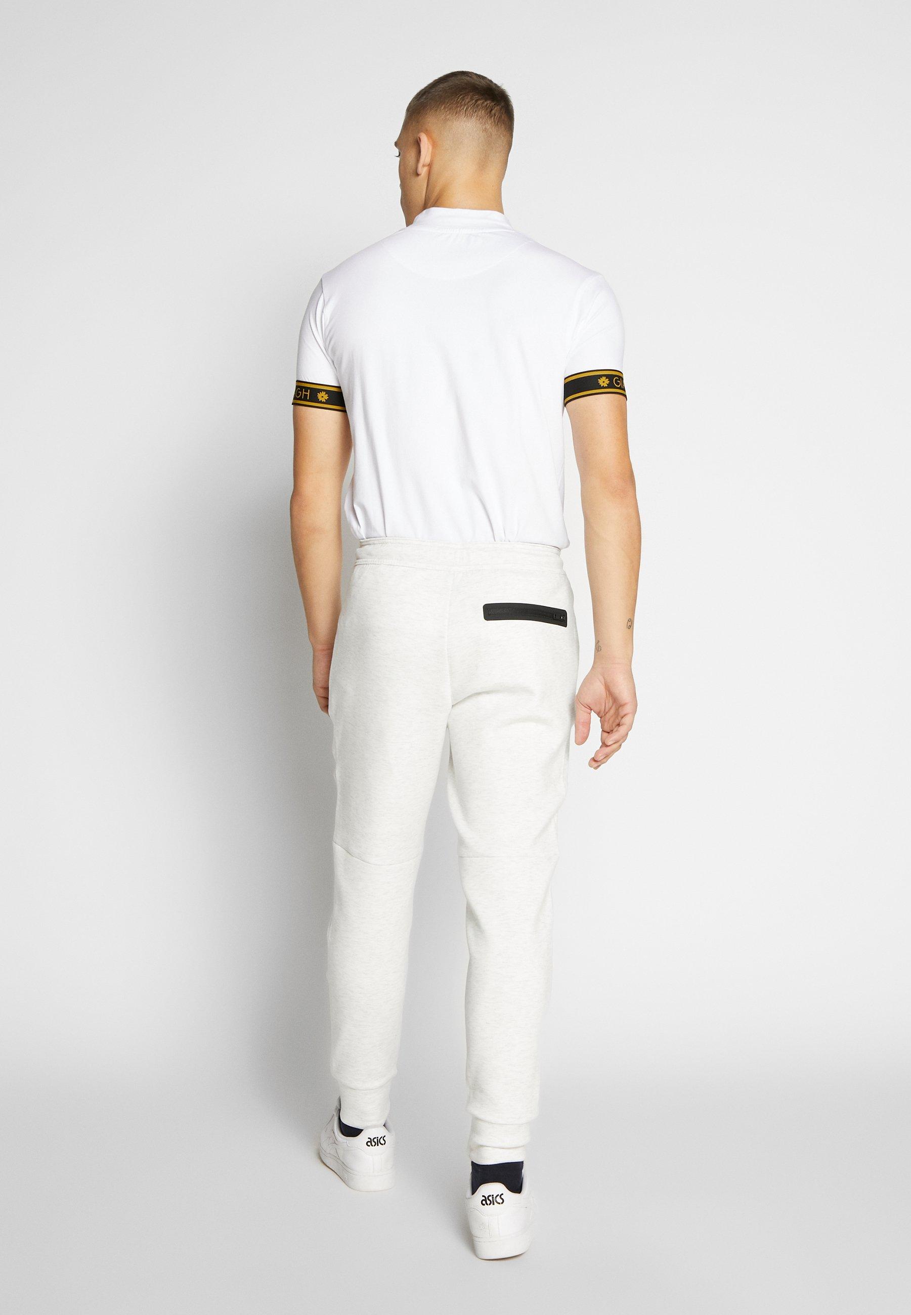 American Eagle MANCHEGO TAPED  - Spodnie treningowe - white