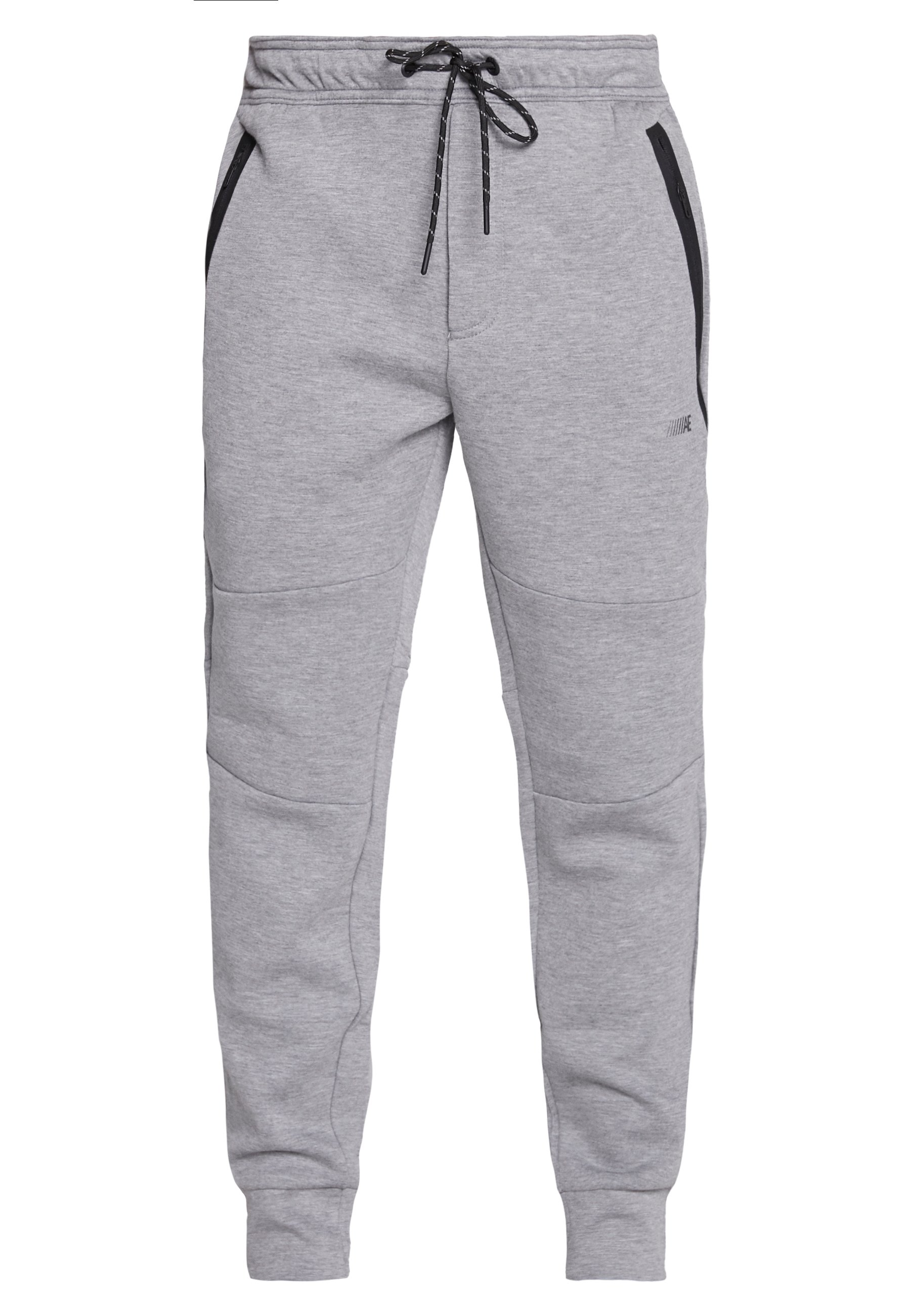 American Eagle MANCHEGO TAPED - Pantalon de survêtement - medium heather gray