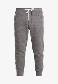 American Eagle - PLAITED CRUZ GRAPHIC  - Joggebukse - heather gray - 4