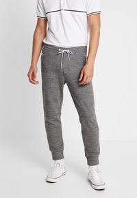 American Eagle - PLAITED CRUZ GRAPHIC  - Joggebukse - heather gray - 0