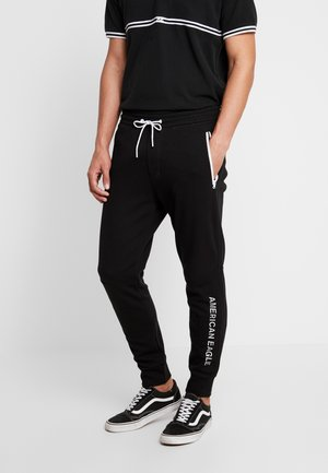 PLAITED CRUZ GRAPHIC  - Jogginghose - jet black