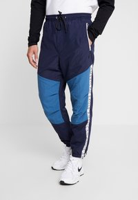 American Eagle - ACTIVE SIDE TAPE - Pantalon de survêtement - navy - 0