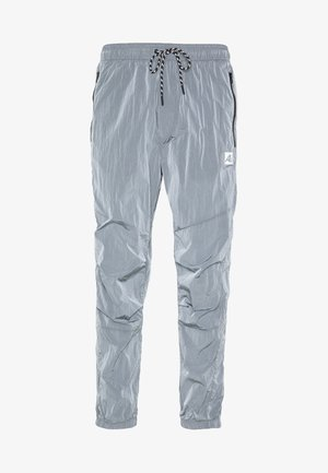 IRRIDESCENT NYLON JOGGER - Tracksuit bottoms - blue mist