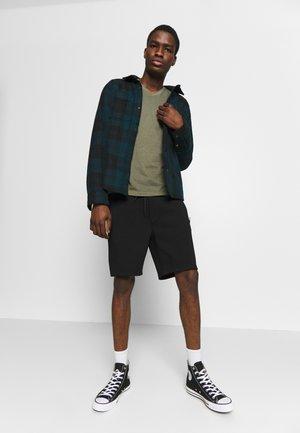 PULL ON WITH BONDED TAPE POCKETS - Pantaloni sportivi - black