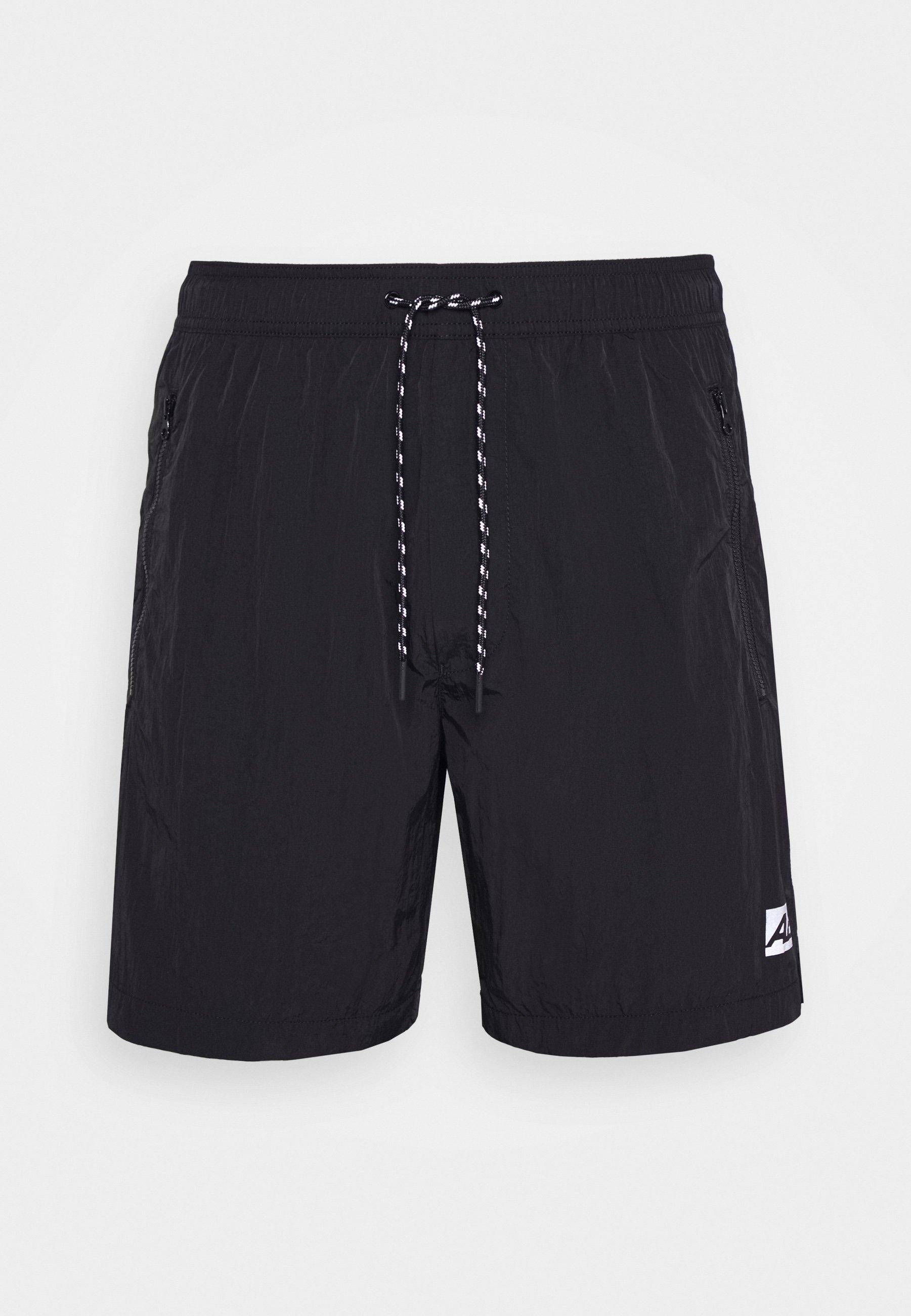 American Eagle Iridescent All Day - Shorts Black Syvoj
