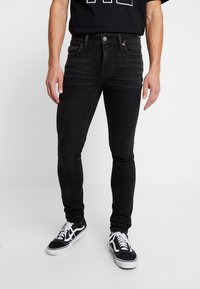 American Eagle - Jeansy Skinny Fit - black - 0