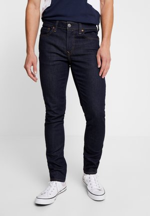 WASH - Skinny džíny - dark rinse