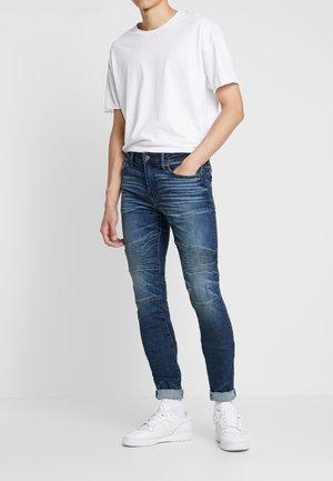 MOTO STACKED  - Jeans Skinny Fit - dark indigo wash