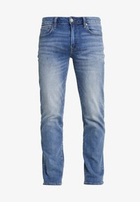 American Eagle - ORIGINAL DARK WASH - Džíny Straight Fit - medium bright indigo - 4