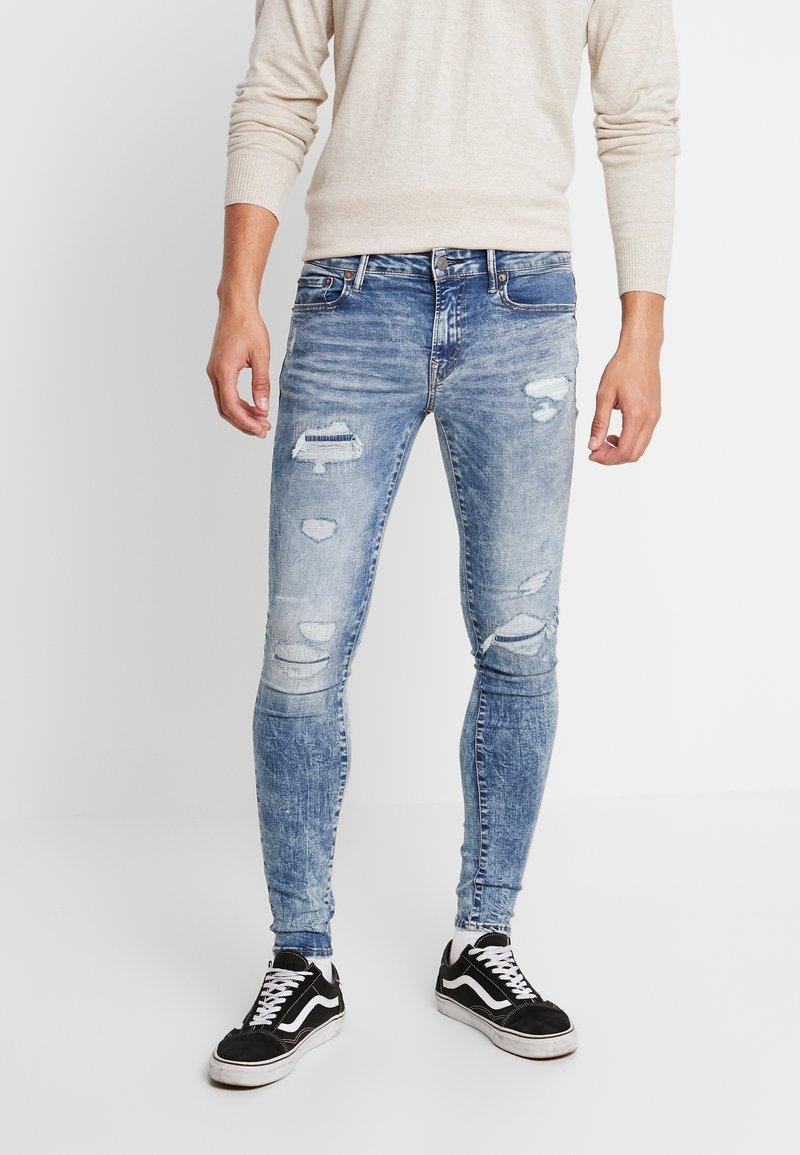 American Eagle - ULTRA MEDIUM WASH - Jeans Slim Fit - indigo