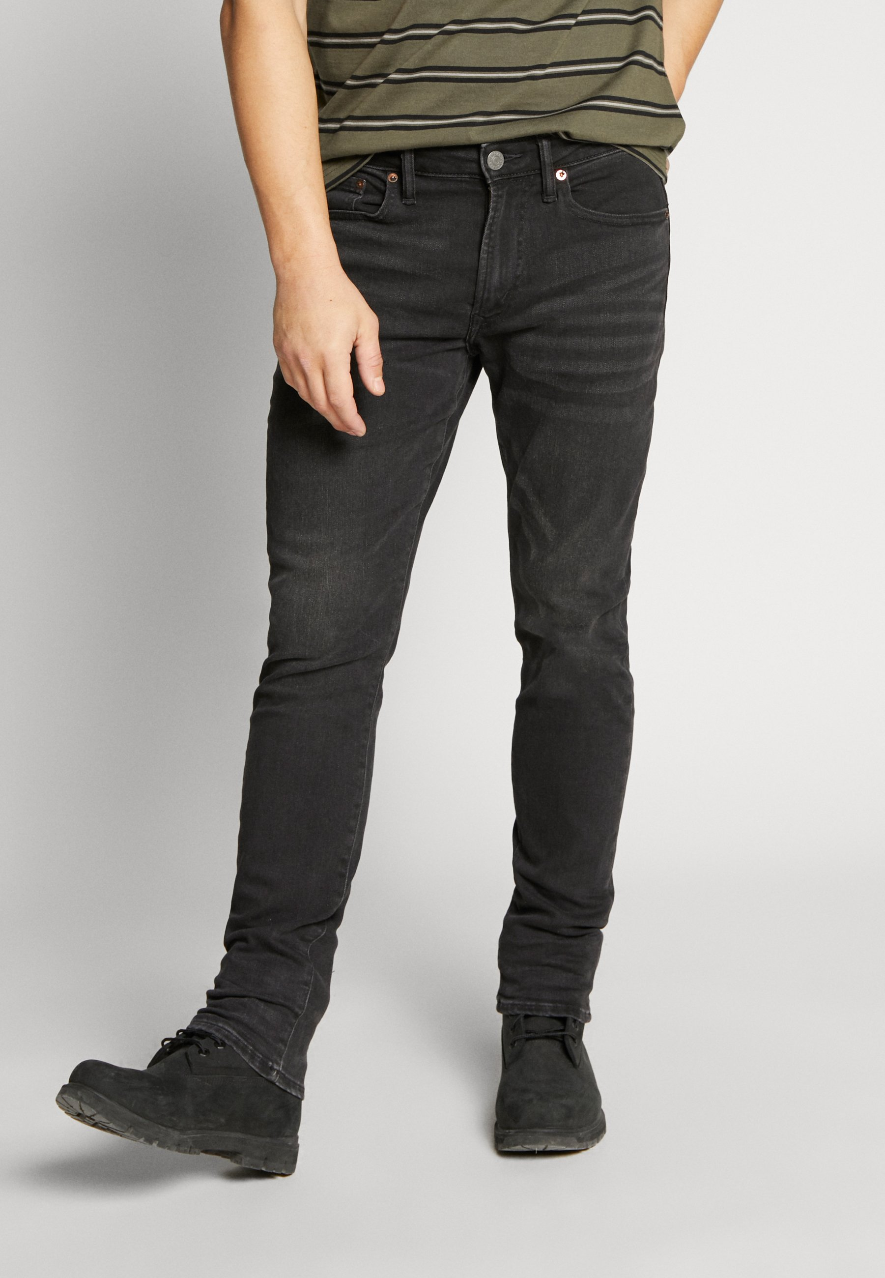 American Eagle Jeansy Slim Fit - black wash
