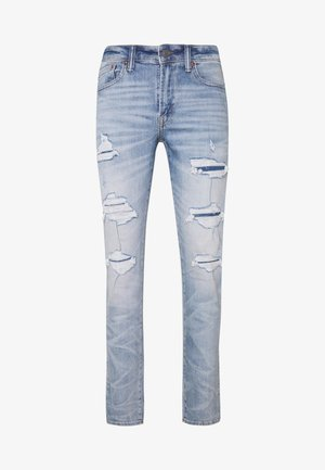 MEDIUM MENDED WASH SLIM - Slim fit jeans - light blue denim