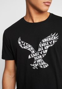American Eagle - AUGUST VALUE - T-shirt imprimé - black - 5